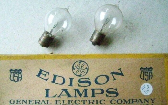 General Electric, Thomas Edison