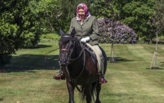 Horse riding at 94 years from Queen Elizabeth