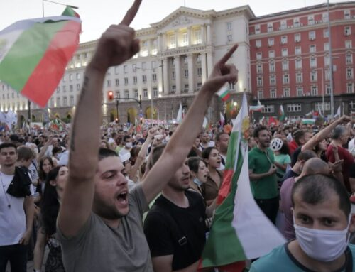 Biggest protest against Bulgarian government