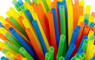 Plastic straws, stirrers, cotton buds