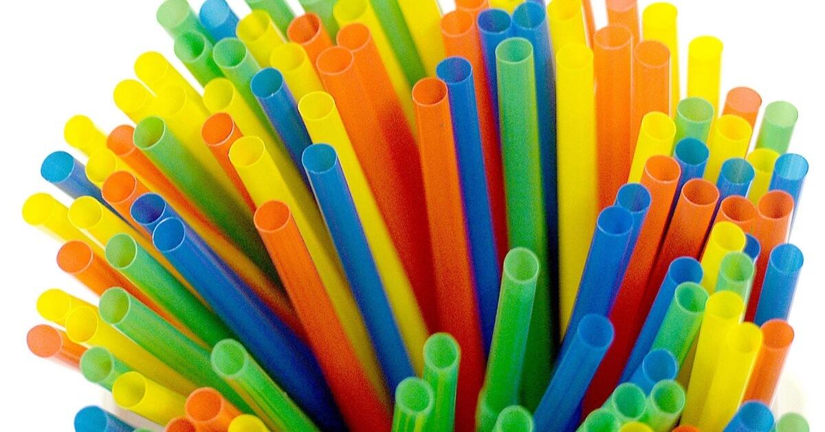 Plastic straws, stirrers, cotton buds