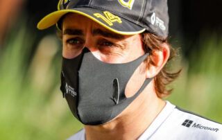 Fernando Alonso in road accident